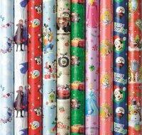 Geschenkpapier Weihnachten Disney 2m x 0,7m