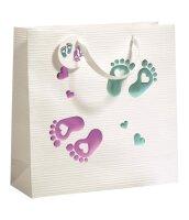 """Geschenktüten Baby """"First Steps"""" 330 x 120..."""