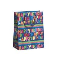 """Geschenktüten Geburtstag 3er Set """"Happy..."""