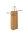Flaschentaschen mit Kordel 14+8x39cm gold