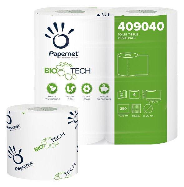 Camping Toilettenpapier 2-lagig Bio Tech Papernet 409040 - 4 Rollen