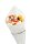 """Spitztüten aus Pergamentersatz """"Pommes"""" 125g  1/8kg 19cm - 100 Tüten"""