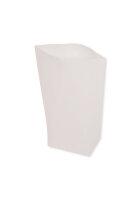 Bodenbeutel weiß 1000g 1kg gebleicht - 1000 Tüten