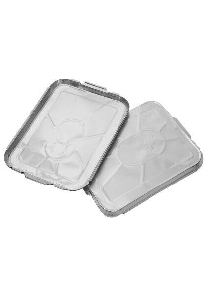 """Aluschalen Deckel 24x19x1,2cm """"Guten Appetit"""" - 100 Stk"""