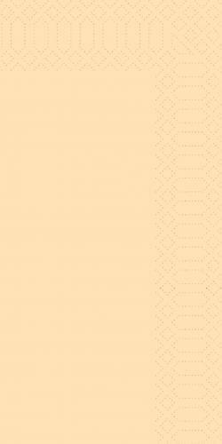DUNI Zelltuch Servietten Cream 1/8 Falz 33x33cm -