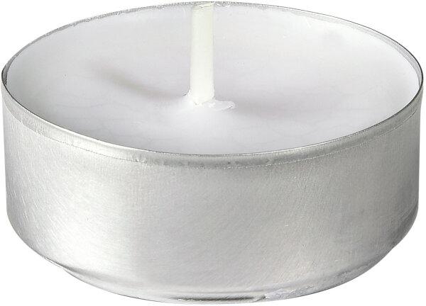 Teelichter weiß 4h 38mm Durchmesser -