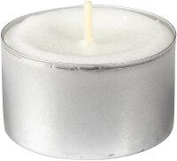 Teelichter Weiß Ø 39mm 8h Brenndauer -