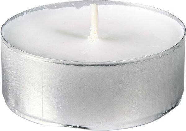 Teelichter Weiß Ø 56mm 10h Brenndauer - 100 Stk
