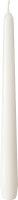 Leuchterkerzen Weiß Ø 22mm 7,5h Brenndauer -