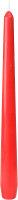 Leuchterkerzen Rot 245 x Ø 22mm 7,5h Brenndauer