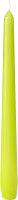 Leuchterkerzen Kiwi 250 x Ø 22mm 7,5h Brenndauer -