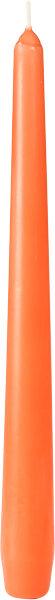 Leuchterkerzen Mandarin 250 x Ø 22mm 7,5h Brenndauer -