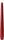 Leuchterkerzen, getaucht 250 x Ø 22 mm 7,5 Std. Bordeaux -
