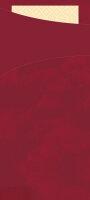 Duni Sacchetto® Serviettentaschen Bordeaux 8,5 x 19 cm -