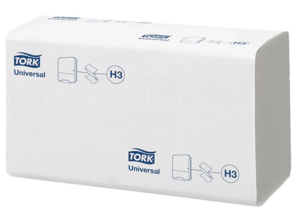 Tork 290158 Papierhandtücher 1lagig Zickzack 23 x 23cm weiss PHT H3  - 4500 Blatt