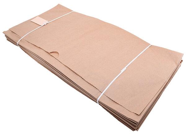 Bio Papier Müllbeutel 120l, 2-fach, 70 x 95cm, 60g - 25 Stk
