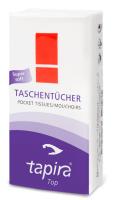 Tapira Taschentücher 4-lagig, hochweiß, Zellstoff